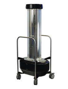 Mobile Room UVC Robots for Surface Disinfection