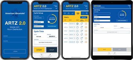 ARTZ 2.0 mobile interface