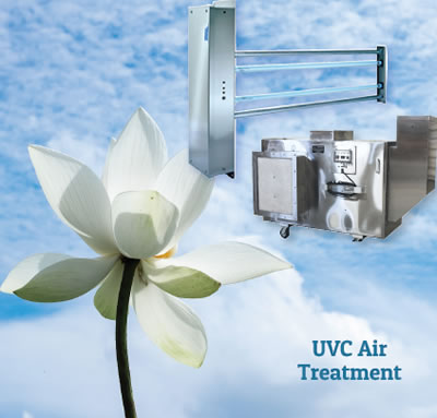 UVC air treatment
