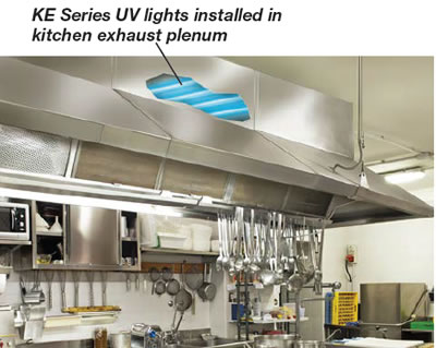 HVAC KE Series kitchen install